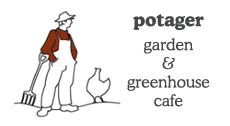 Potager Garden and Greenhouse Cafe